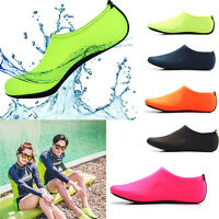 Men Skin Water Shoes Aqua Beach Sock Yoga Exercise Pool Swim Slip On Surf Unisex