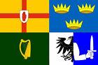 Ireland Four Provinces Flag 5'x3' Irish Provences St Patrick's Day