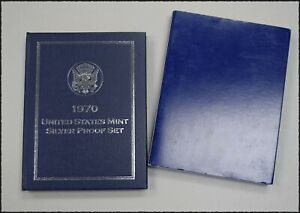 """1970-S U.S. Silver Proof Set """"Proof"""" *Free S/H After 1st Item*"""