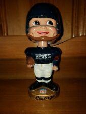 Chicago Bears 1965 AFL/NFL Rnd Gold Base Nodder/Bobbin Head/Bobbing Head NR MT