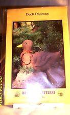 Pattern E54 Swd6 Honey Bee Duck Doorstop