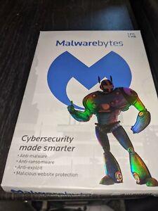 Malwarebytes 1 year, 1 PC