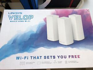 Linksys Velop Tri-Band WiFi 3 Node Ac6600 White WHW0303W