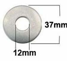 M12 x 37 Stainless Steel Mudguard, Repair, Penny Washers (12mm x 37mm x 3mm) x10