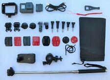 GoPro Hero 5 Black 4K Ultra HD Camera - Massive Bundle