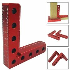 90 Degree Positioning Squares Aluminum Alloy Woodwork Right Angle Locator Clamp