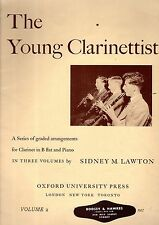 The YOUNG CLARINETTIST Clarinet Sheet Music Book 2 GRADED Arrangements VGC