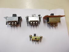 Slide Switch, Various Sizes, 4 Piece