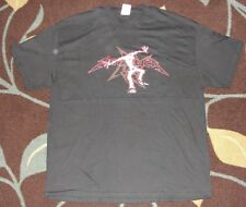 Vintage Metallica Ninja Star Mosher 2002 Concert Tour Trash Metal Shirt XL