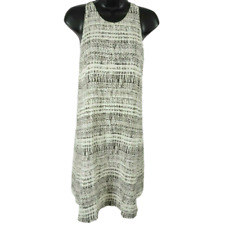 NWT Cynthia Rowley 100% Silk Black & White Sleeveless Dress Women's Size 4