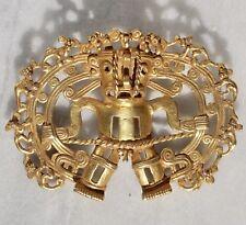 Pre Columbian Gold Shaman with Monkeys Pendant Diquís A.D. 500-1500