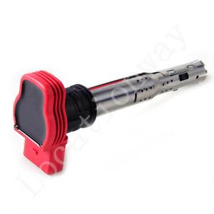 4Pcs Ignition Red Coil Pack Set 06E905115E 06E905115D For Audi R8 2.0TFSI 2.0TSI