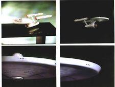 ENTERPRISE FX MODELS: 4 STAR TREK 8x10 color photos