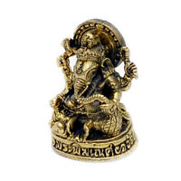 Vietguild/'s Ganesh in a boat Bronze Figurine Statue Amulet