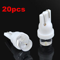 20PCS 12V DC Car White LED T10 194 168 SMD W5W Auto Wedge Side light Bulb lamp