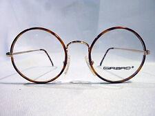 Vintage Girard 4436 Gold Lt. Tort. 47/20 Round Eyeglass Frame New/Old Stock