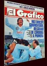 BELGRANO de CORDOBA B CHAMPION 1991 - In the First Division - El Grafico mag