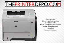 HP LaserJet Enterprise P3015n Laser Printer CE527A BEST REFURB + VERY LOW PAGES