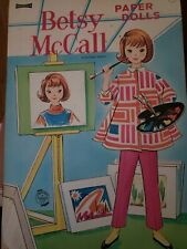 Vtg Betsy McCall Paper Dolls 4468 1968 Uncut Great Condition 15+ Fashions