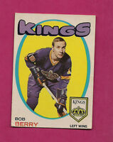 1971-72 OPC # 76 KINGS BOB BERRY  ROOKIE CARD