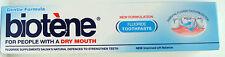 Biotene Boca Seca Pasta De Dientes,100 ml, con flúor para reforzar los dientes.