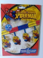 FESTONE SPIDERMAN 3 mt x h. 43 cm FESTA PARTY COMPLEANNO