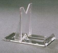 Slide Back Easel Display Stands for minerals, coins, arrowheads, plates, glass
