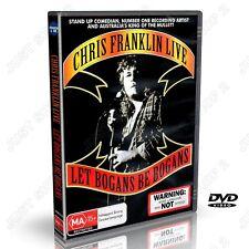 Let Bogans Be Bogans  : Chris Franklin Live :  : New Stand Up Comedy DVD