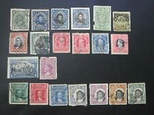 USED CHILE STAMPS  EARLY CLASSICS LOT