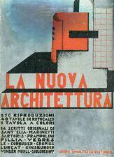FILLIA, La nuova architettura. UTET 1931