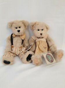 """Set of 2 Cottage Collectibles Ganz """"Cecil & Celia"""""""