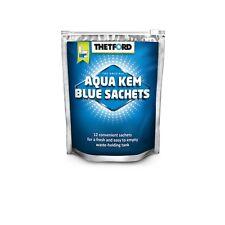 12 Bolsitas Thetford Aqua Kem Blue Sachets WC Químico Potti Autocaravana Camper