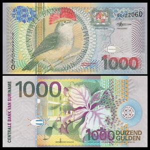 Suriname 1000 1,000 Gulden, 2000, P-151, UNC