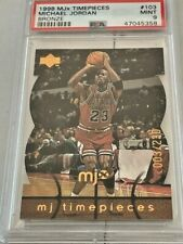 1998 Upper Deck MJx Timepieces Bronze Michael Jordan 003/230 #103 PSA 9 MINT