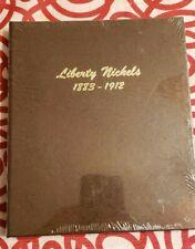 NEW Dansco Coin Album For Liberty Nickels 1883-1912 Album #7111