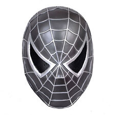 Fabric Plastic Wire Mesh Paintball CS  Airsoft Protection Spider-Man Mask