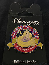 Paris Disney RAPUNZEL PTN Tangled Pin Trading Night LE 400 DLRP