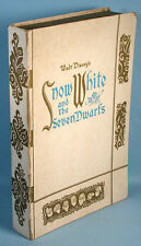 1938 Snow White and the Seven Dwarfs Soap Set in Storybook Box Walt Disney Ent.