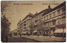 Horse Transport,Trolley on Marszalkowska Street,Warsaw/Warszawa,Poland,1910s (2)