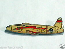 F-80 Shooting Star Jet Military Aircraft Pin , Vintage , (**)