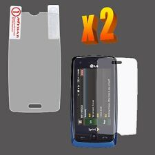 2X Clear LCD Screen Protector for LG Banter Touch UN510 Rumor Touch LN510