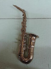 Saxofon Messing Deko Teddy Puppe
