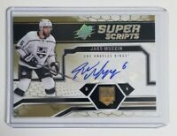 2018-19 Upper Deck SPX Hockey Jake Muzzin #SS-JM Super Scripts L.A. Kings