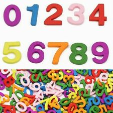 100Pcs Colorful Wooden Numbers Math Toys Montessori Educational Toy New lskn