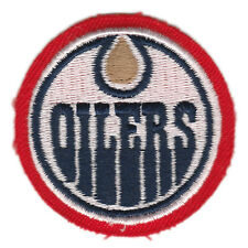 """1998 EDMONTON OILERS MOLSON CANADIAN BEER OFFICIAL NHL HOCKEY 2"""" TEAM PATCH"""