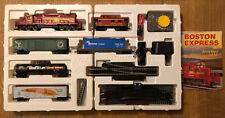 MEHANO train line Boston Express Eisenbahn Komplettset / Spur H0 / in OVP