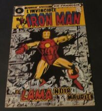 1972 THE INVINCIBLE IRON MAN # 4 French Rare Heritage Quebec Edition