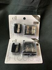 E.L.F. elf Set of 2 Essentials Dual Pencil Sharpener