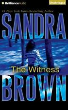 The Witness by Sandra Brown (2016, CD, Unabridged)