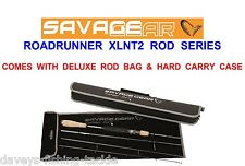 SAVAGE GEAR XLNT2 ROAD RUNNER TRAVEL ROD SERIES SEA COARSE LURE FISHING SPINNING